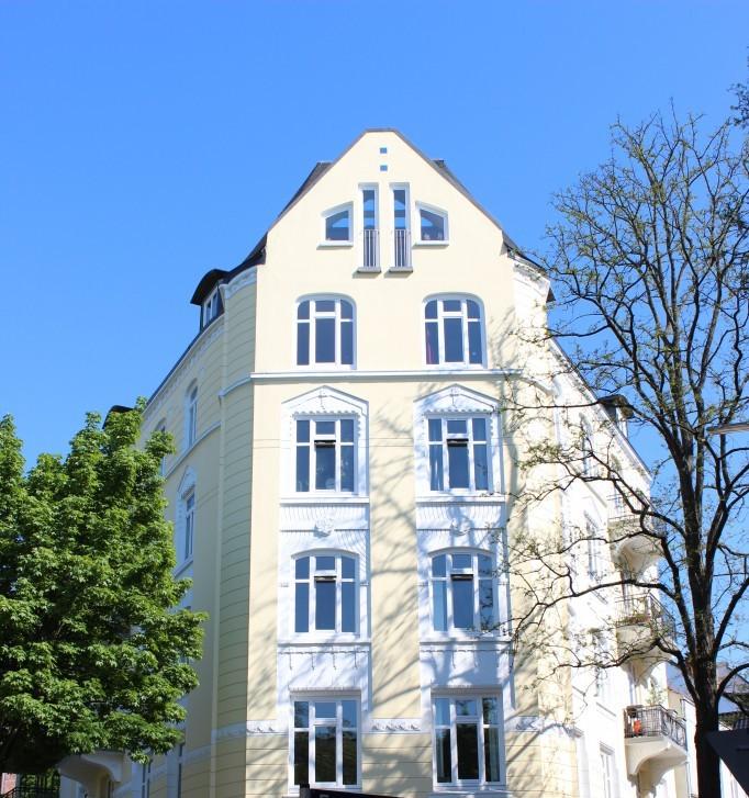 Schönes Jugendstilgebäude in Eimsbüttel