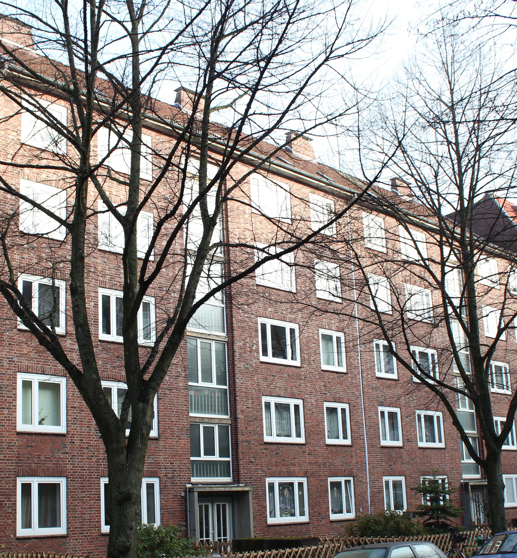 Solide Rotklinker Wohnanlage in Eimsbüttel