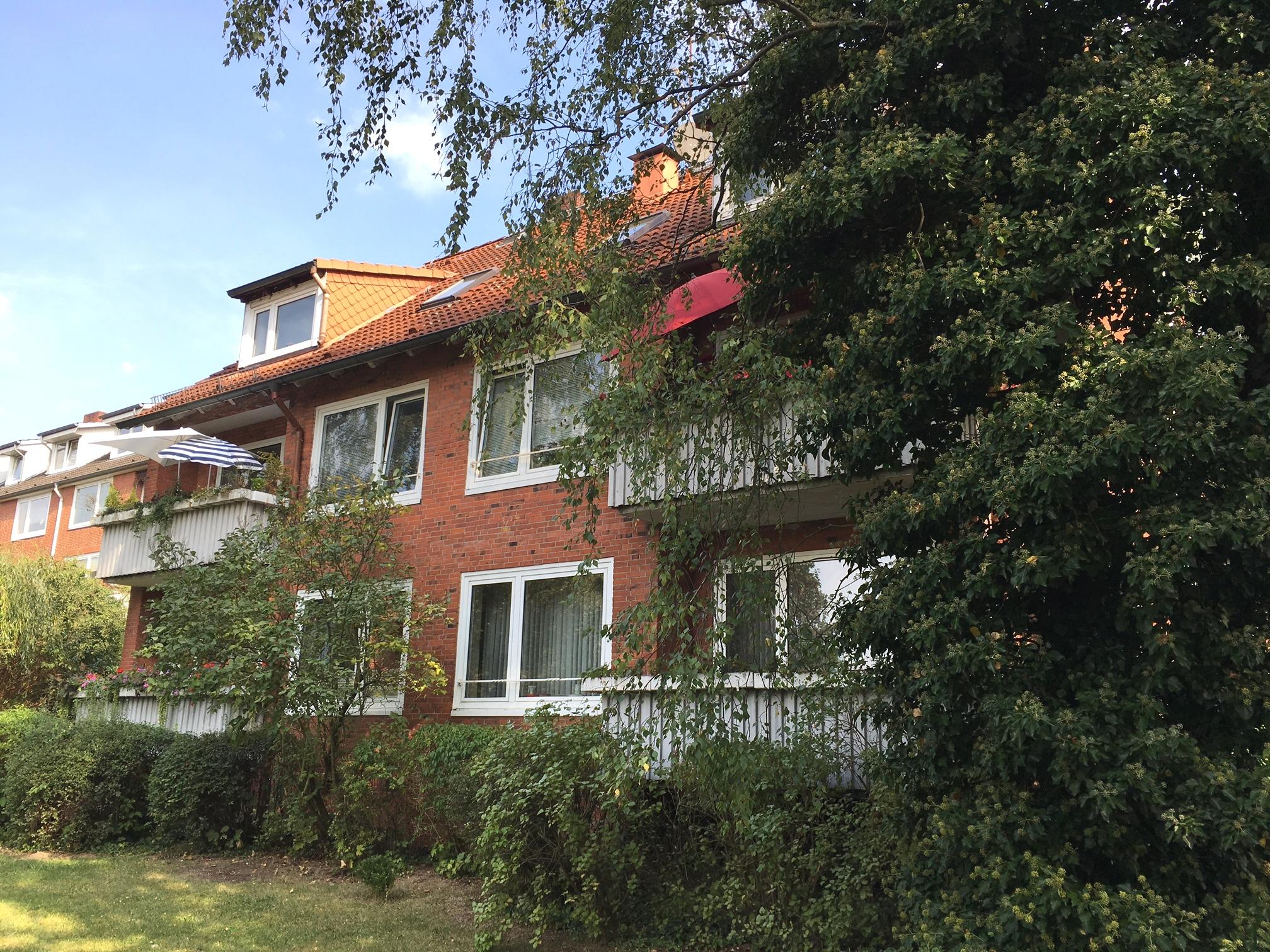 Gepflegtes Rotklinker-Mehrfamilienhaus in Bergedorf